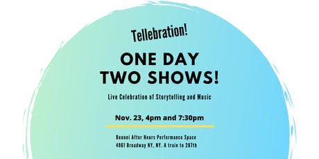 TELLEBRATION:  Personal and mythical storytelling and live music tickets