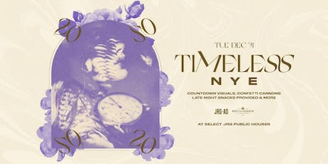 TIMELESS NYE AT OAK & THORNE tickets