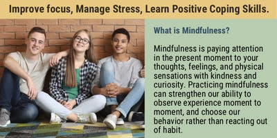 Information Session for Mindfulness for Teens Program