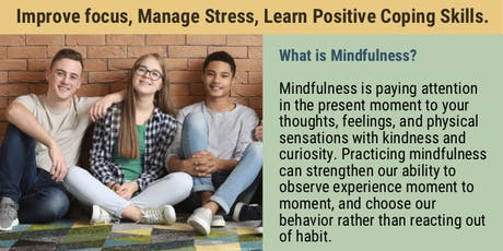 Mindfulness for Teens tickets