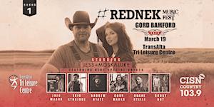 GORD BAMFORD #Rednek Music Fest FAN PRESALE