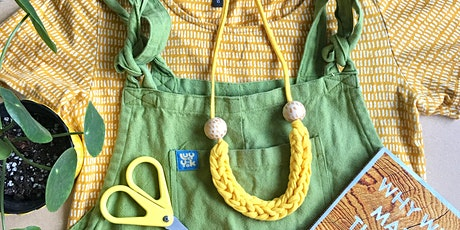 Upcycled Fabric Jewellery at Bird & Blend tickets