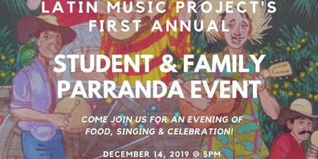 Student & Family Parranda Event tickets