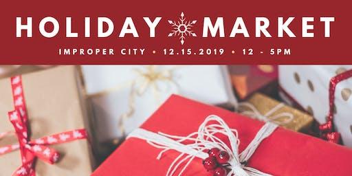 Improper City FREE Holiday Market