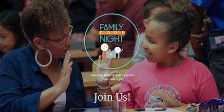 Hartford Family Code Night tickets