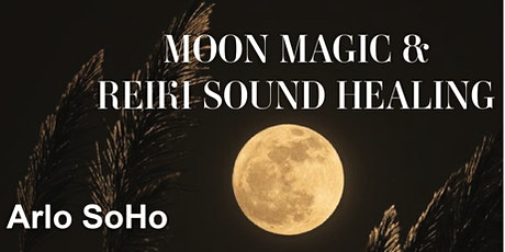 Reiki Sound Bath & Moon Magic December 15 tickets