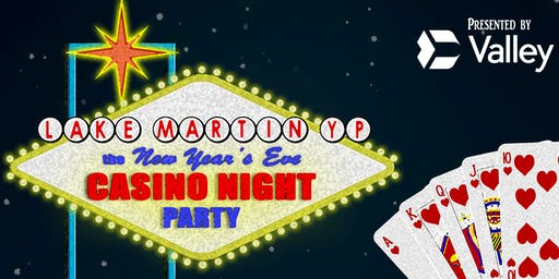 New Year's Eve Casino Night presented by Valley Bank