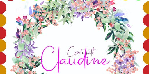 Create a Deco Mesh Wreath With Claudine