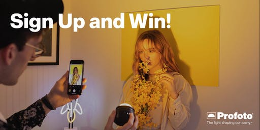 Sign Up and Win with Profoto during ProFusion 2019