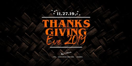 Thanksgiving Eve at Up & Down