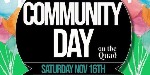 First Annual Community Day Hosted by Pre-Alumni Council