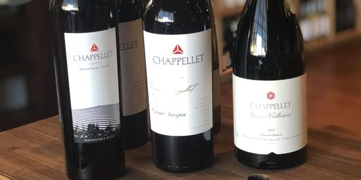 Chappellet Wine Tasting Event with Amy & Dominic Chappellet