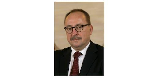 Hungarian Parliamentarian Zsolt Németh  Lecture