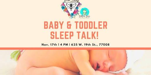 Baby & Toddler Sleep Talk