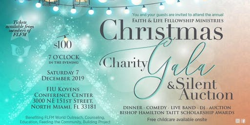 FLFM Annual Christmas Charity Gala & Silent Auction