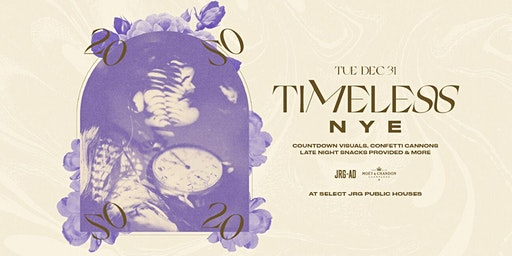 TIMELESS NYE AT THE HENRY