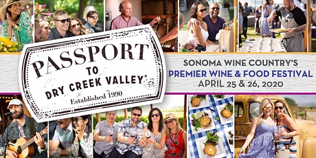 Passport to Dry Creek Valley - 2020 tickets