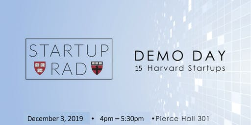 Startup R&D Demo Day: Fall 2019