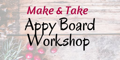 Kelowna Make + Take Appy Board Workshop
