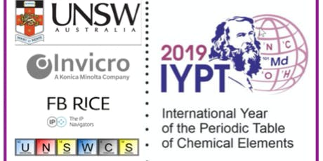 IYPT2019@UNSW Celebrating International Year of Period Table of Elements  tickets