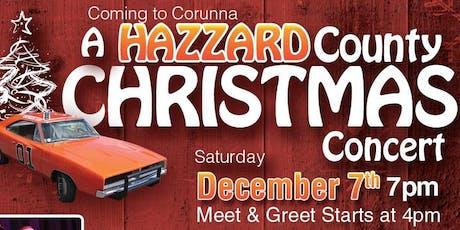 A Hazzard County Christmas Concert with Tom Wopat (Luke Duke). tickets