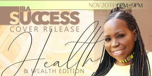 IBA Success Health and Wealth Cover Reveal