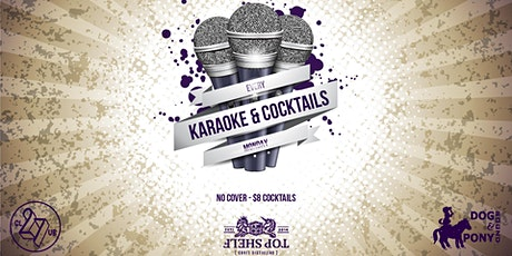 Karaoke & Cocktails tickets