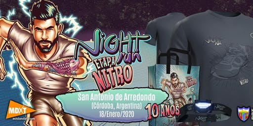 NIGHT RUN SAN ANTONIO DE ARREDONDO 10K-4K-1K-CAMINANTES-BICHITOS y MINIBICH