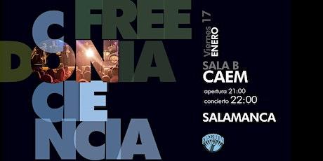 FREEDONIA GIRA CONCIENCIA - SALAMANCA entradas