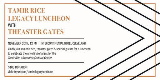 The Tamir Rice Legacy Luncheon