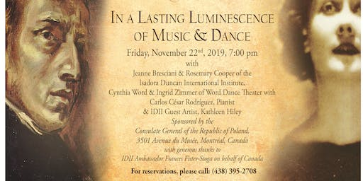 Frederic Chopin and Isadora Duncan:In Lasting Luminescence of Music & Dance