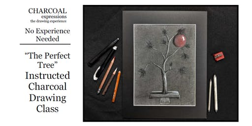 "Charcoal Drawing Event ""Perfect Tree"" in Stevens Point"