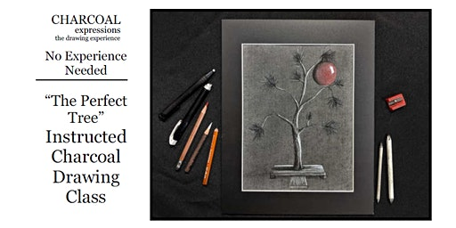 """Charcoal Drawing Event """"Perfect Tree"""" in Stevens Point"""
