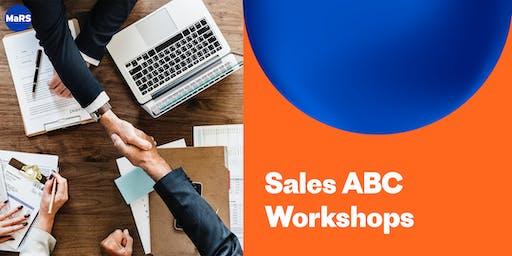 MaRS Sales ABC Workshops – November 26, December 3 and 10 (Nov-2019)