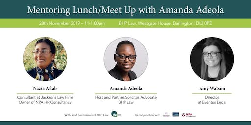 Mentoring Meet up with Amanda Adeola