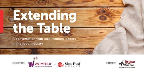 Extending the Table: A Conversation with Local Women in the Food Industry tickets