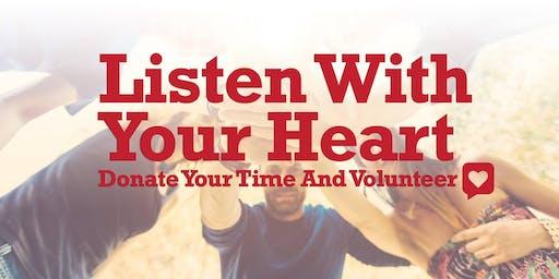 Response Crisis Center Volunteer Crisis Counselor Training - Spring 2020