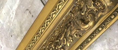 Seattle: Gold Leaf Restoration and Gilded Bevels