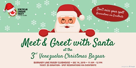 2019 Santa at Bazar Venezolano - Meet & Greet tickets