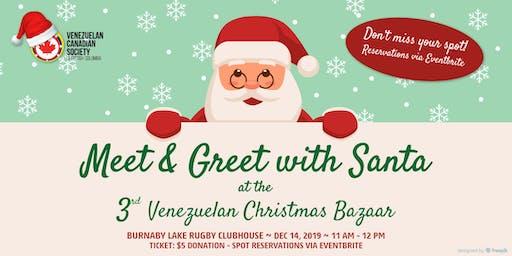 2019 Santa at Bazar Venezolano - Meet & Greet