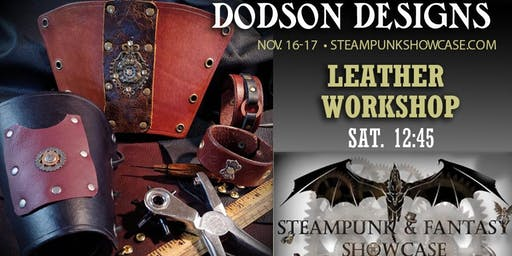Leather Workshop (Hands on with Dodson Designs)