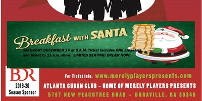 Breakfast with Santa and The Bus Stops Here