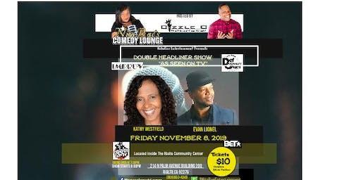 "Double Headliner ""As Seen On TV"" Comedy  SHOW -NitaRae's Comedy Lounge"