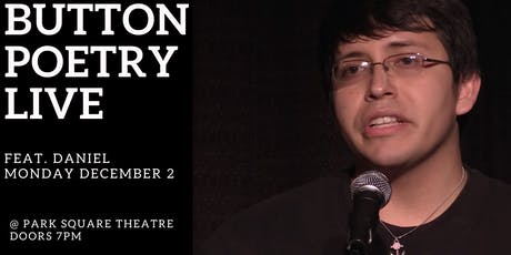 Button Poetry Live December: feat. Daniel! tickets