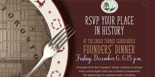A Vintage Christmas at the Schoolhouse - Annual Founder's Dinner 2019