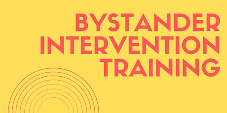 Bystander Intervention Training tickets