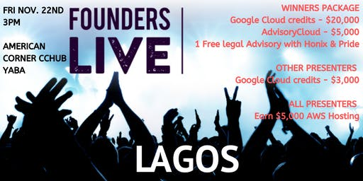 Founders Live Lagos
