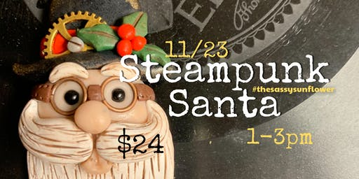 Steampunk Santa with Annette