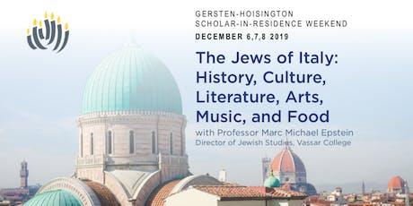 Gersten-Hoisington Scholar in Residence Weekend tickets