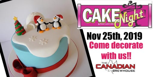 CakeNight -Penguins -Sherwood Park